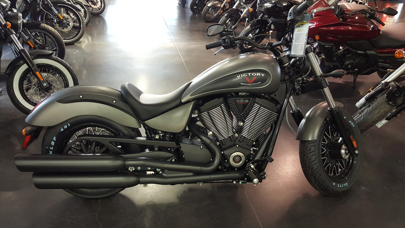 2015 Victory Gunner Suede Titanium Metallic with Blac, motorcycle listing