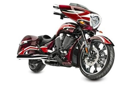 2015 Victory Magnum - Ness Midnight Cherry, motorcycle listing