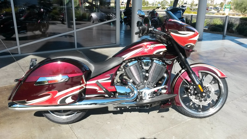 2015 Victory Magnum Ness Midnight Cherry, motorcycle listing