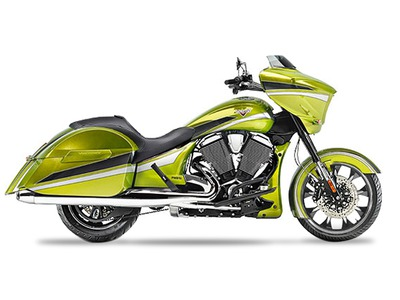 2015 Victory Magnum Plasma Lime with Silver, motorcycle listing