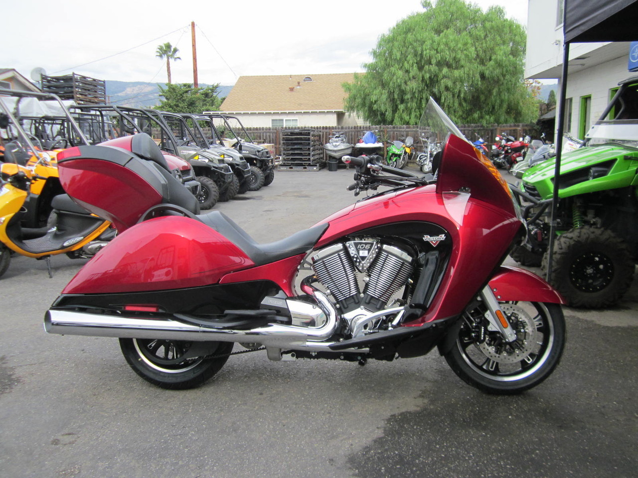 2015 Victory VISION, motorcycle listing