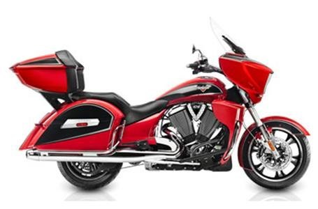 2015 Victory Vision Tour - Sunset Red, motorcycle listing