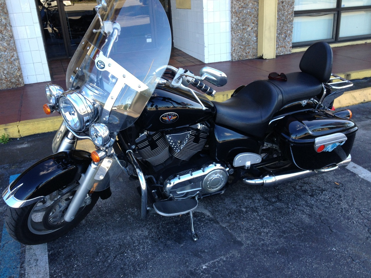 2003 Victory V92 TC TOURING CRUISER, motorcycle listing
