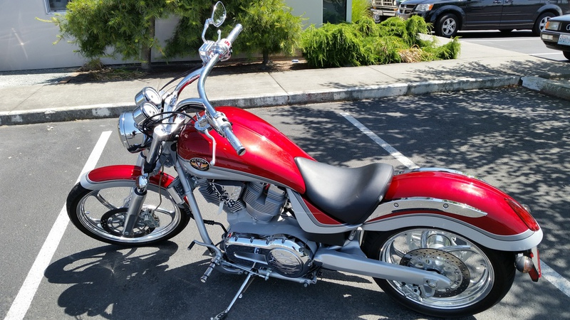2004 Victory Vegas, motorcycle listing