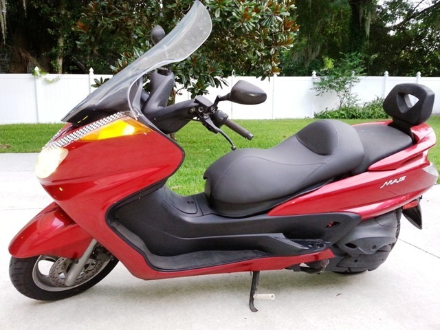 2006 Yamaha Majesty 400, motorcycle listing