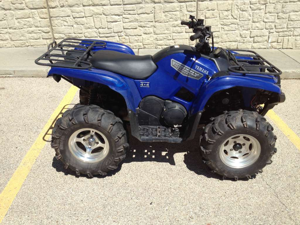 2007 Yamaha Grizzly 700 FI Auto. 4x4, motorcycle listing