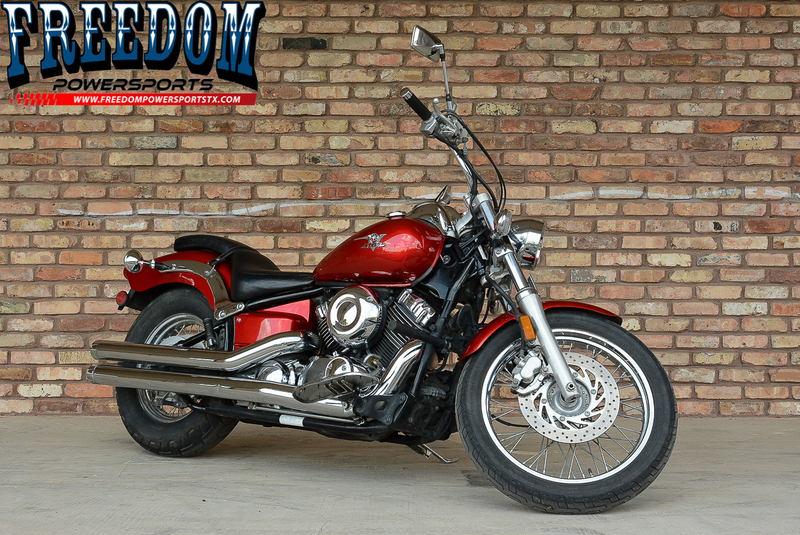2007 Yamaha V Star Custom, motorcycle listing