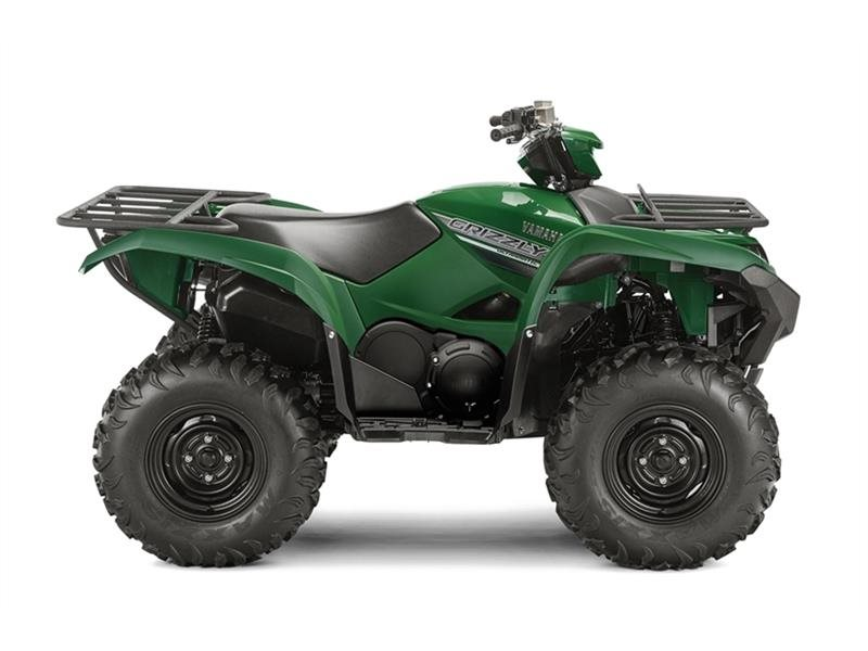 2016 Yamaha Grizzly Hunter Green, motorcycle listing