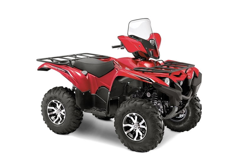 2016 Yamaha GRIZZLY EPS 4WD LIMITED EDITION CRIMSON , motorcycle listing