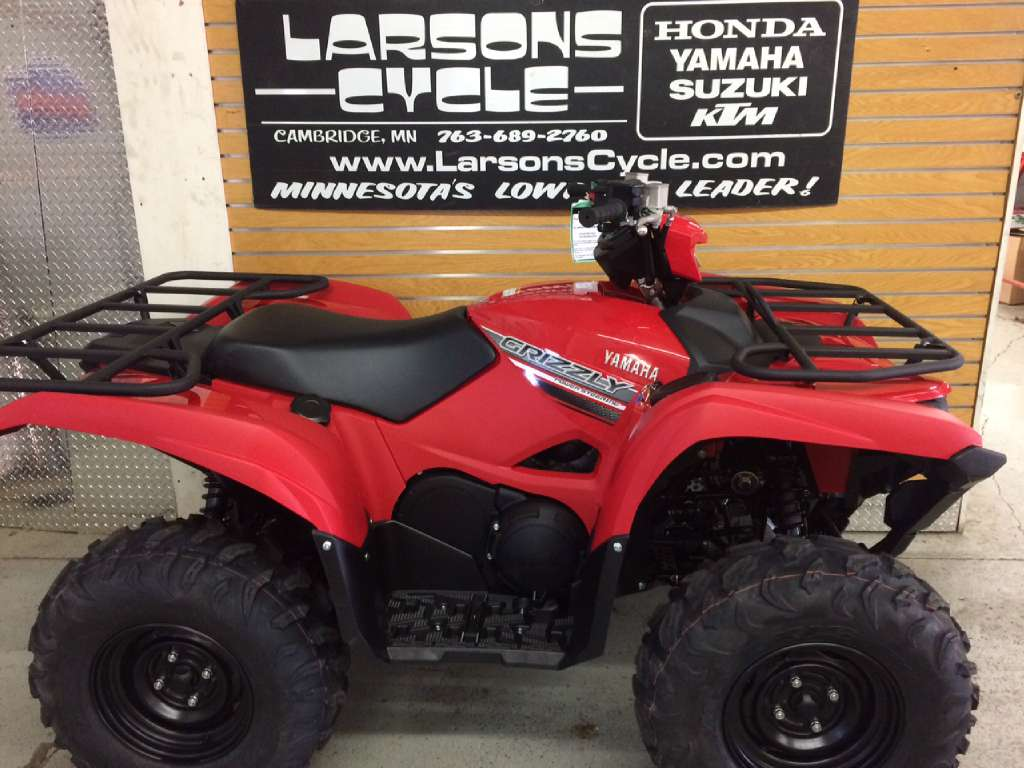 2016 Yamaha Grizzly EPS Red, motorcycle listing