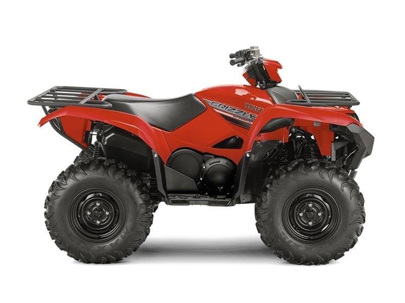 2016 Yamaha Grizzly Red, motorcycle listing