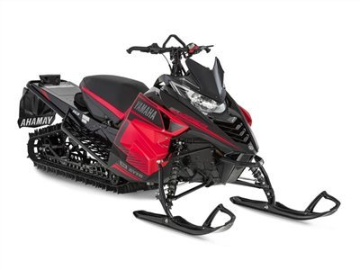 2016 Yamaha SRViper M-TX 153 Black / Red, motorcycle listing