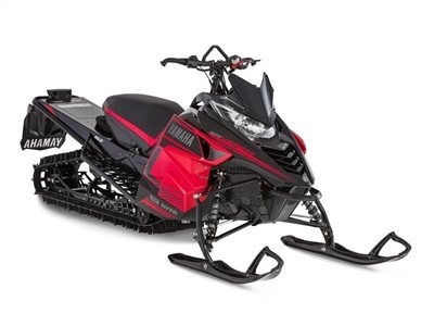 2016 Yamaha SRViper M-TX 162 Black / Red, motorcycle listing