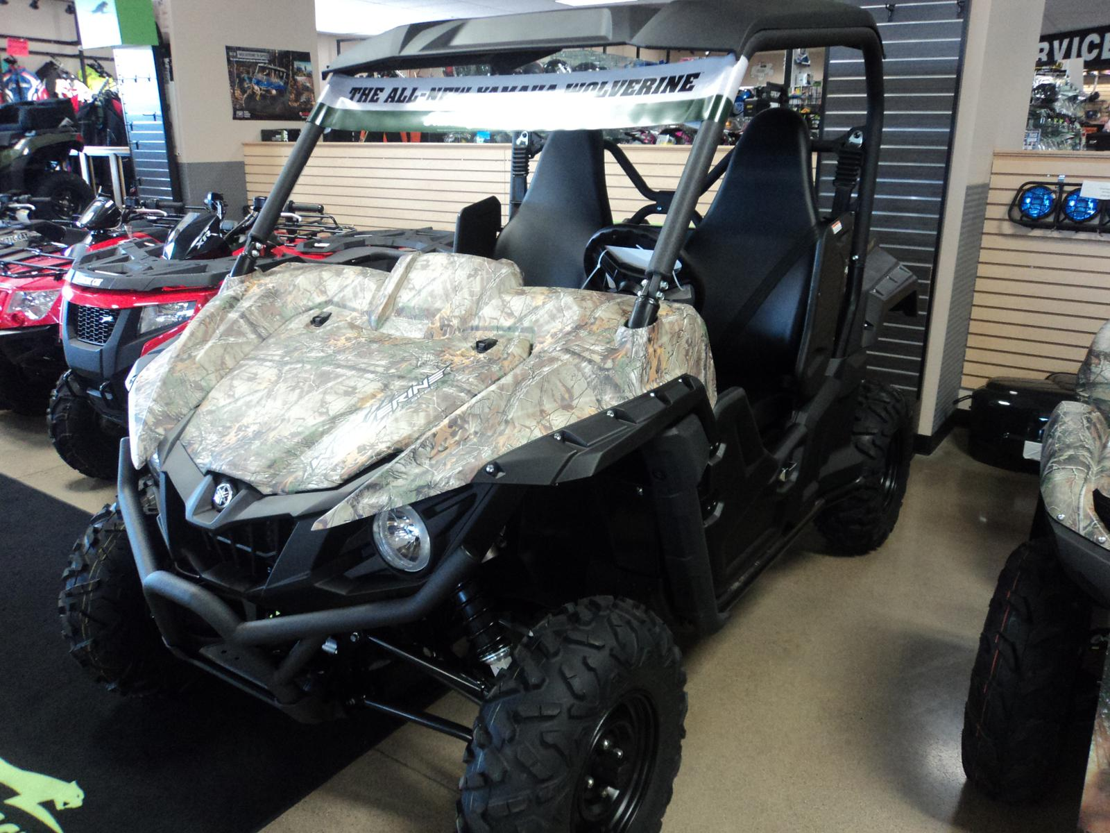 2016 Yamaha Wolverine R-Spec - Realtree Xtra, motorcycle listing