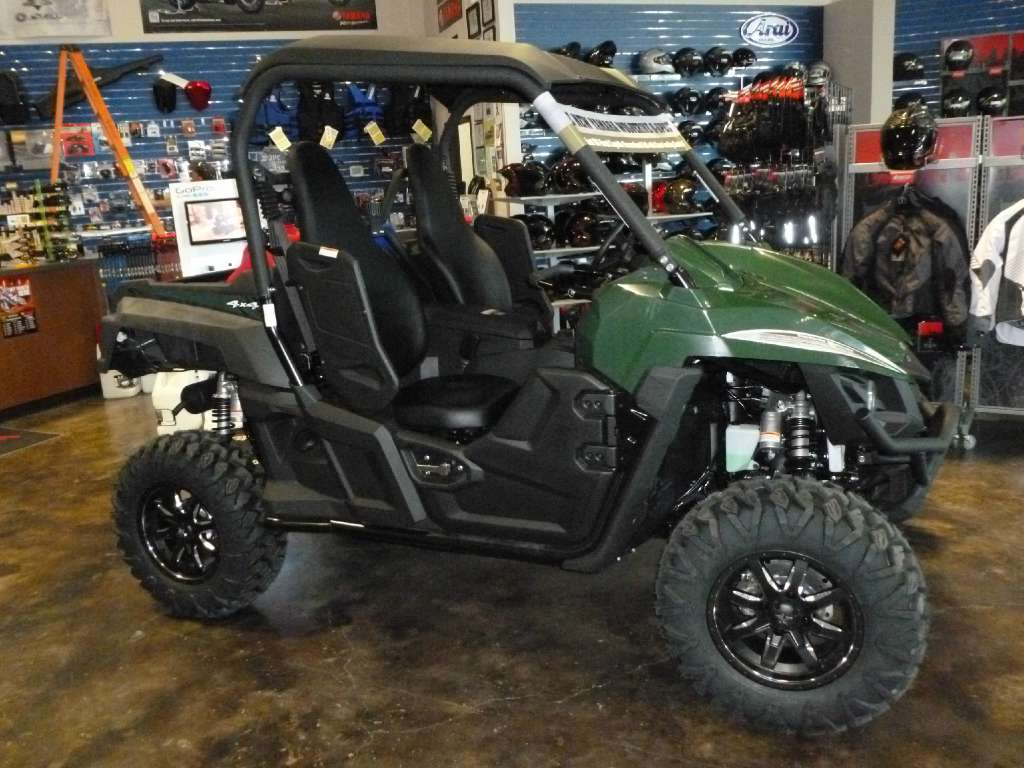2016 Yamaha Wolverine R-Spec EPS Hunter Green, motorcycle listing