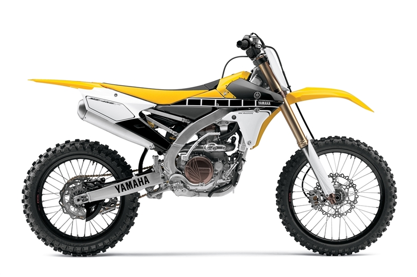 2016 Yamaha YZ450F 60TH ANNIVERSARY EDITION, motorcycle listing