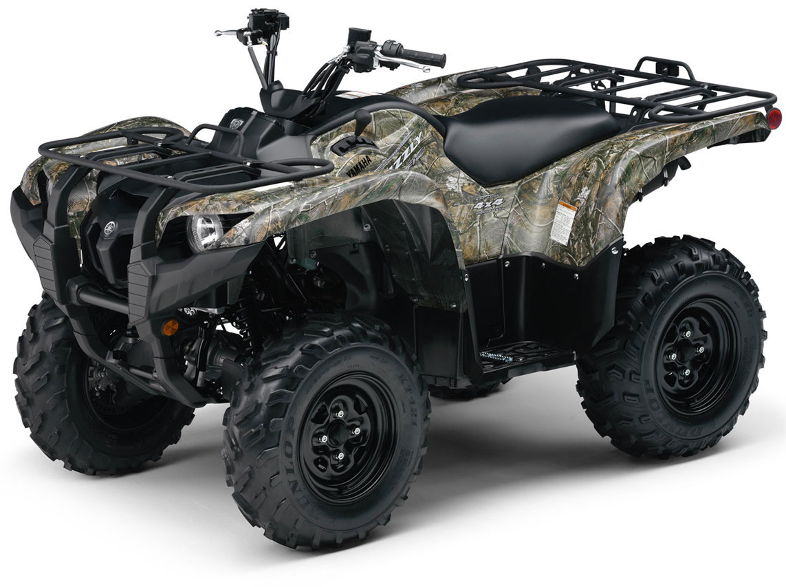 2015 Yamaha GRIZZLY 700 FI AUTO 4X4 Hunter, motorcycle listing
