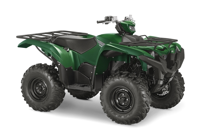 2016 Yamaha Grizzly - Hunter Green, motorcycle listing