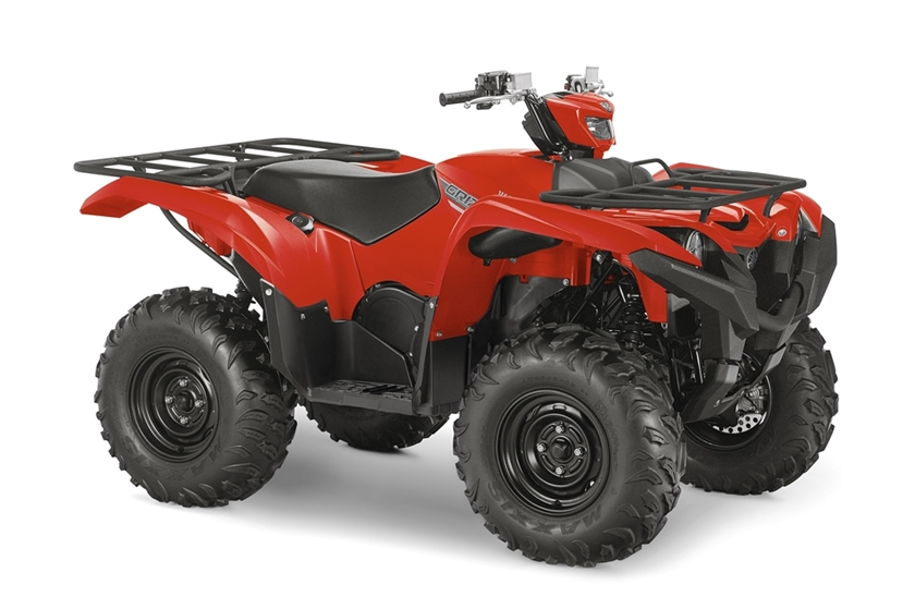 2016 Yamaha Grizzly - Red, motorcycle listing
