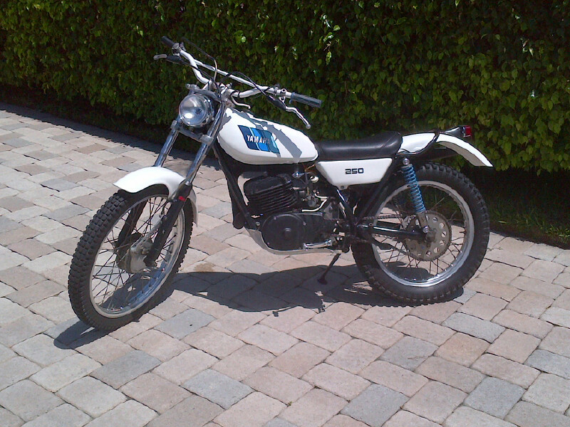 1974 yamaha ty250 motorcycle from boca raton fl today for Yamaha 250 scrambler for sale